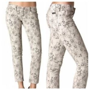 MISS ME NWT Lace Ankle Skinny Jeans